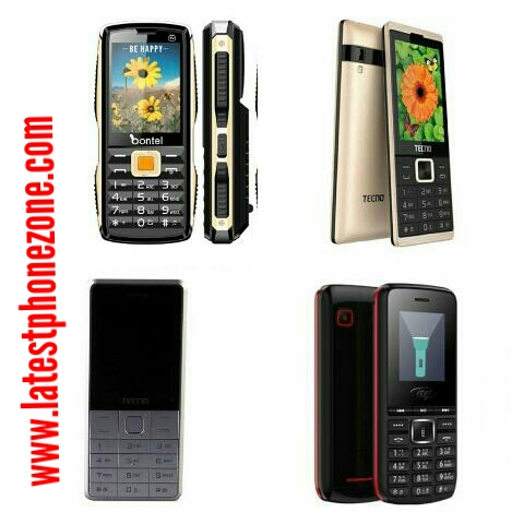 Feature phone prices in Nigeria