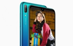 Huawei Y7 Pro 2019 smartphone- camera