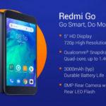 Xiaomi Redmi Go Specifications