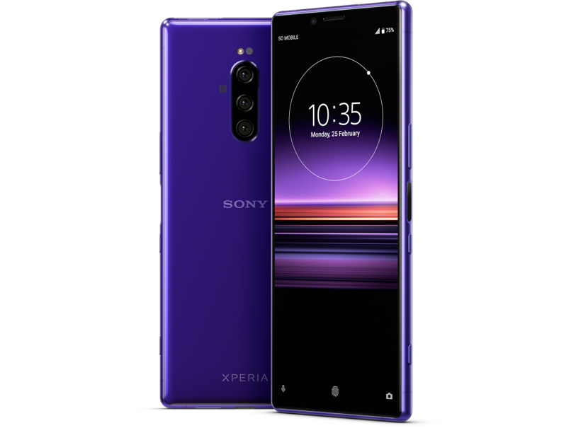 Sony Xperia 1 android smartphone camera