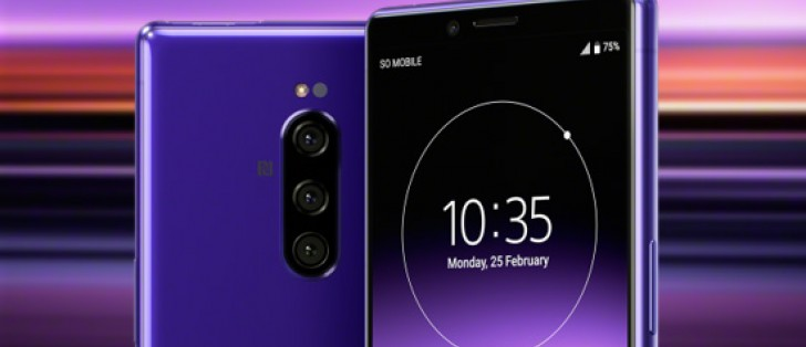 Sony Xperia 1 android smartphone camera