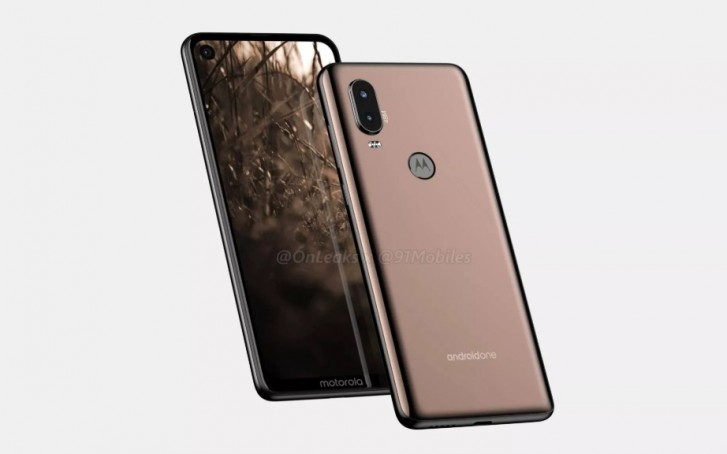 Motorola One Vision with dual rear camera