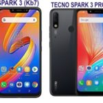 Tecno Spark 3 and Spark 3 Pro Android smartphones: full specifications and price in Nigeria