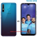 Infinix Hot 8 vs Tecno Spark 4 android smartphone specs and price comparison, differences and similarities