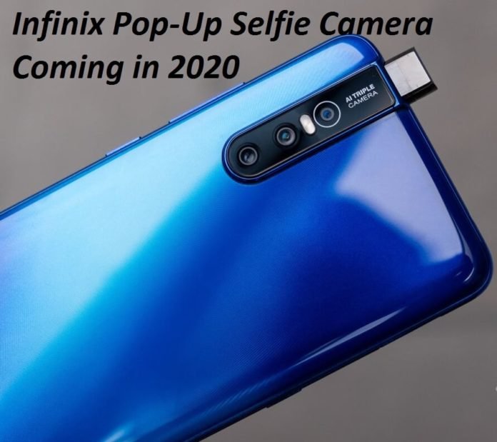 Infinix Pop-Up selfie camera smartphones coming in the Q1 of 2020