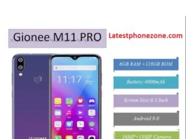 Gionee M11 Pro Price in Nigeria, Specifications, and Reviews, Buy on Jumia