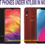 Best budget smartphone under 70,000 Naira in Nigeria