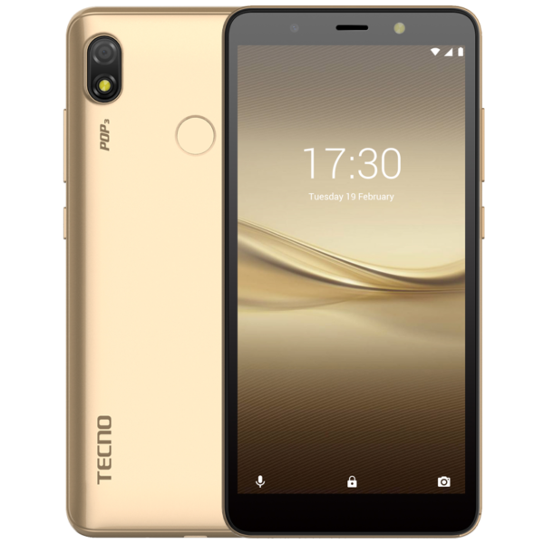 Tecno Pop 3 is one of the best budget phones under 30,000 Naira in Nigeria
