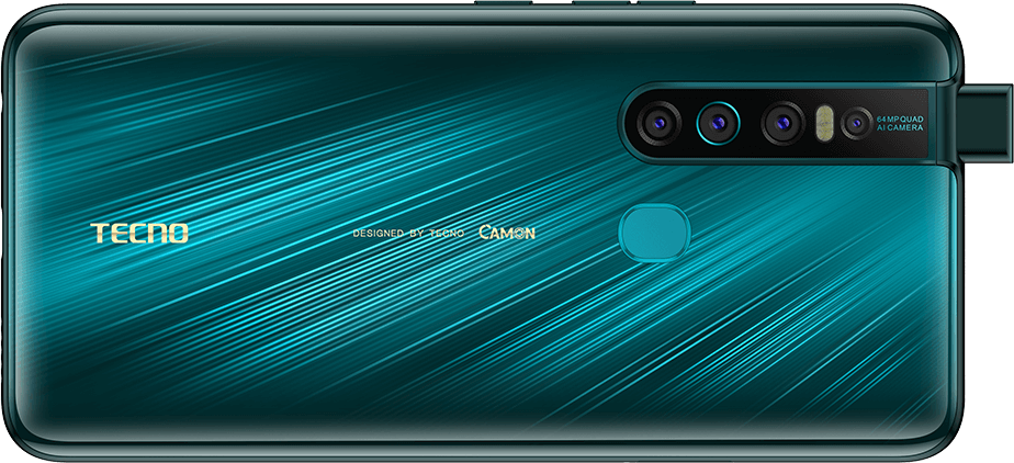 Tecno Camon 15 Premier price in Nigeria. The phone comes with a 64MP camera, 32MP selfie camera, 4000mAh battery, and a rear-mounted fingerprint scanner