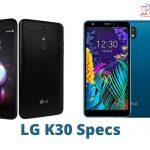 LG K30 Specs