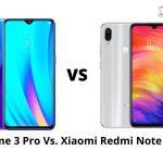 Realme 3 Pro Vs. Xiaomi Redmi Note 7 Pro