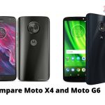 Compare Moto X4 and Moto G6