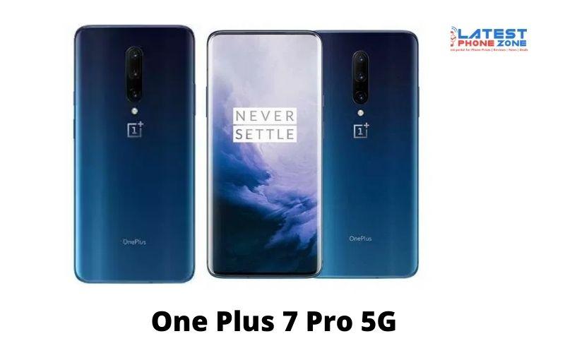 One Plus 7 Pro 5G
