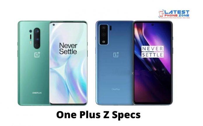One Plus Z Specs
