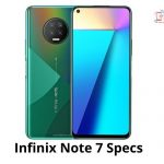 Infinix Note 7 Specs