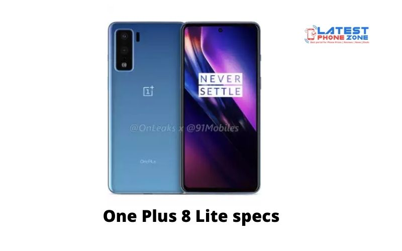 One Plus 8 Lite specs