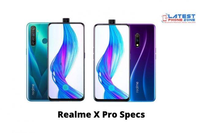 Realme X Pro Specs