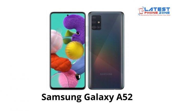 Samsung Galaxy A52 Specs