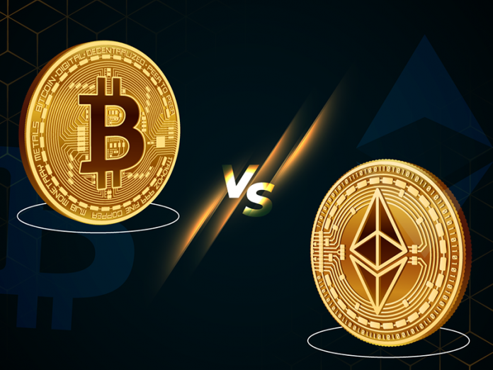 Bitcoin And Ethereum Cryptocurrency