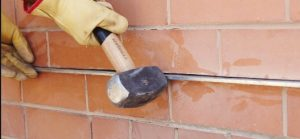 How to install a lintel