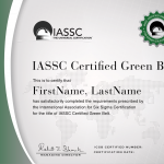 Certified Six Sigma Green Belt